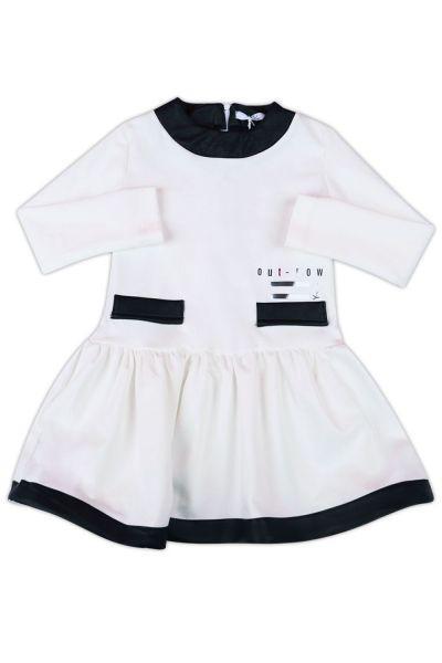 Купить Платье, Y-clu', Черный, Хлопок-95%, Эластан-5%, Женский