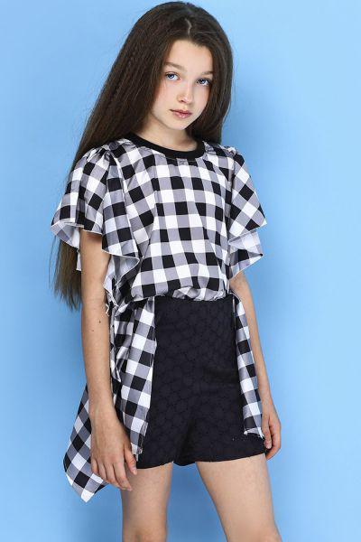 Шорты To Be Too для девочки TF15065 чёрный, Китай (КНР)