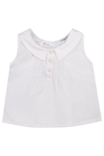 Купить Блуза, Y-clu', Белый, Полиэстер-90%, Эластан-10%, Женский