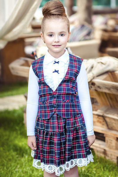 юбка noble people для девочки, разноцветная