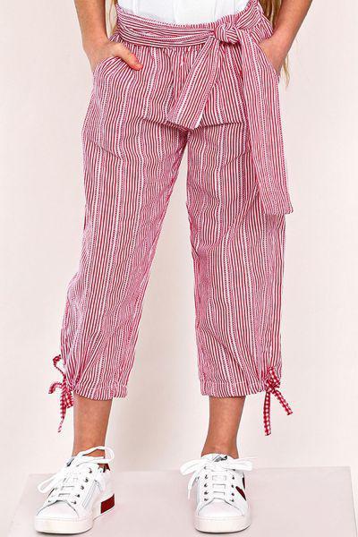 брюки gaialuna для девочки, разноцветные