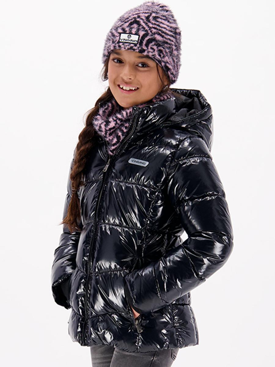 Купить Куртка, Vingino, Черный, Нейлон-100%, Женский