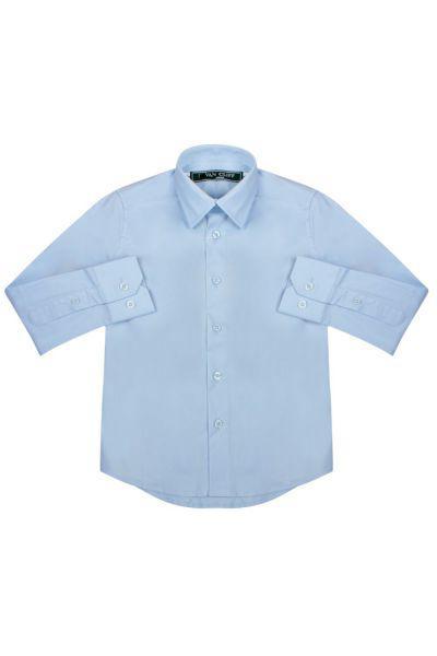рубашка van cliff для мальчика, голубая