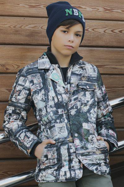 Купить Куртка, Noble People, Бежевый, Полиэстер-100%, Мужской