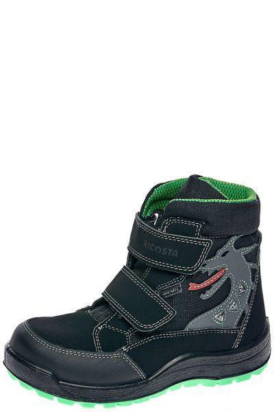 Купить Ботинки, Ricosta, Черный, Текстиль+искуственный материал-100%, Мужской