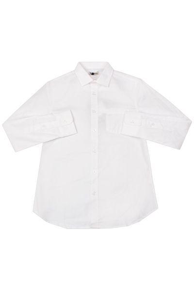 Купить Рубашка, Ronnie Kay, Белый, Хлопок-97%, Эластан-3%, Мужской
