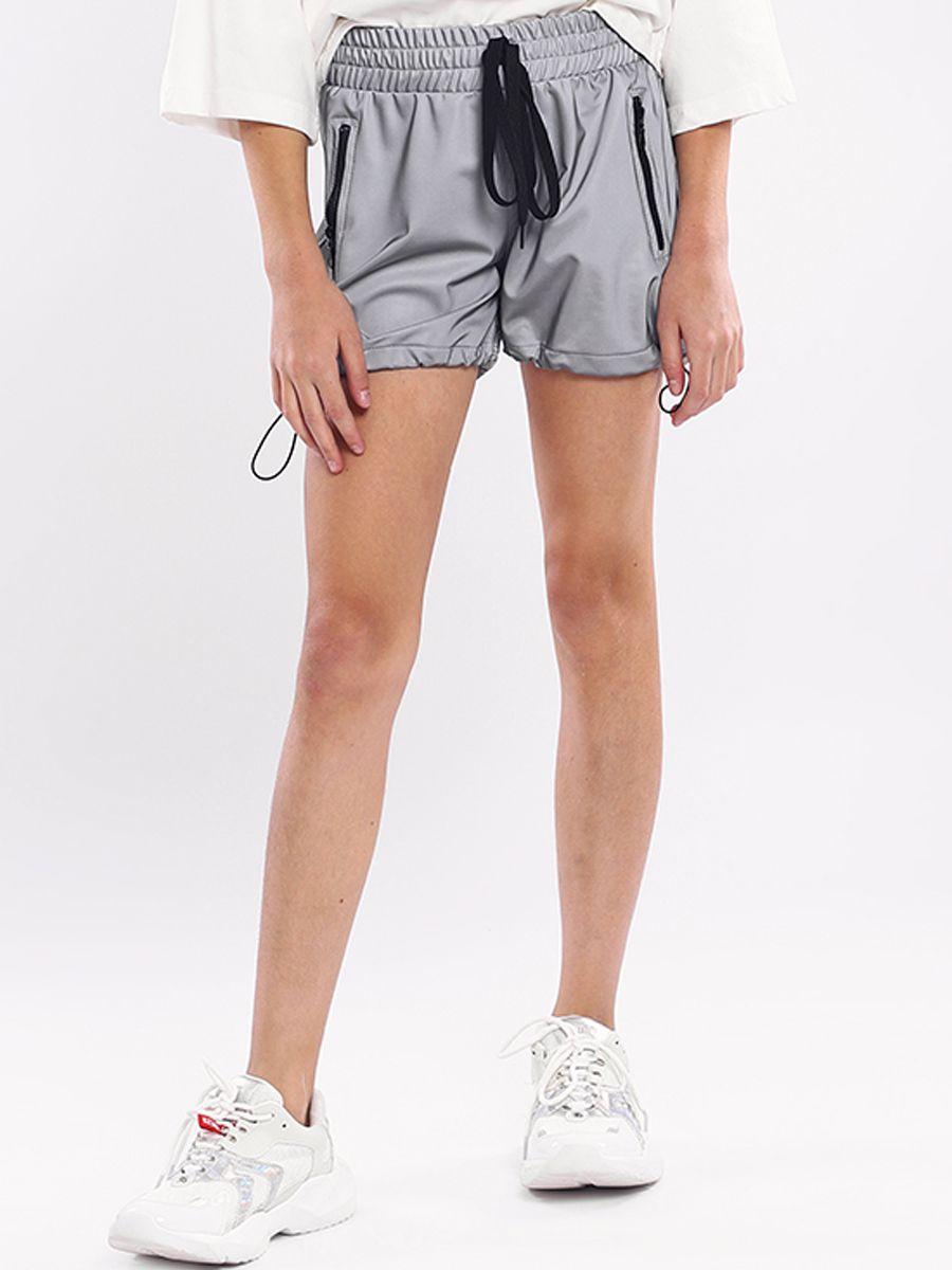 шорты y-clu' для девочки, серые
