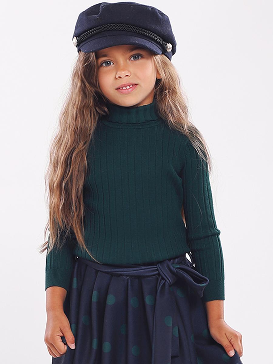водолазка y-clu' для девочки, зеленая