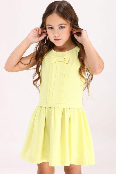 Купить Платье, Y-clu', Желтый, Полиэстер-80%, Эластан-20%, Женский