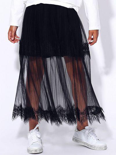 юбка to be too для девочки, черная