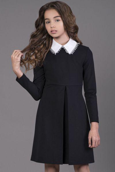 Купить Платье, Noble People, Синий, Хлопок-80%, Полиэстер-15%, Эластан-5%, Женский