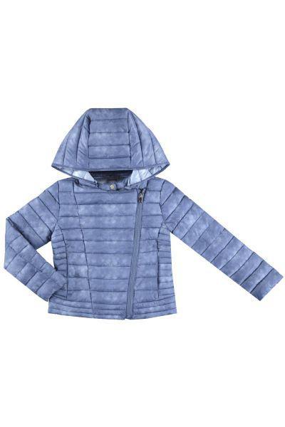 Купить Куртка, Mayoral, Голубой, Полиэстер-100%, Женский