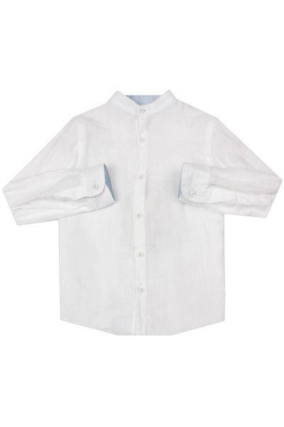 Купить Рубашка, Ronnie Kay, Белый, Хлопок-100%, Мужской