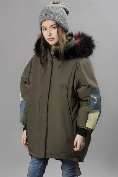 Купить Куртка, MNC, Зеленый, Полиэстер-100%, Женский