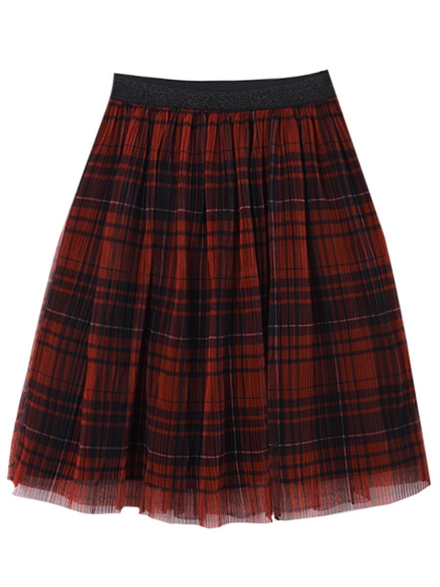 юбка mayoral для девочки, красная