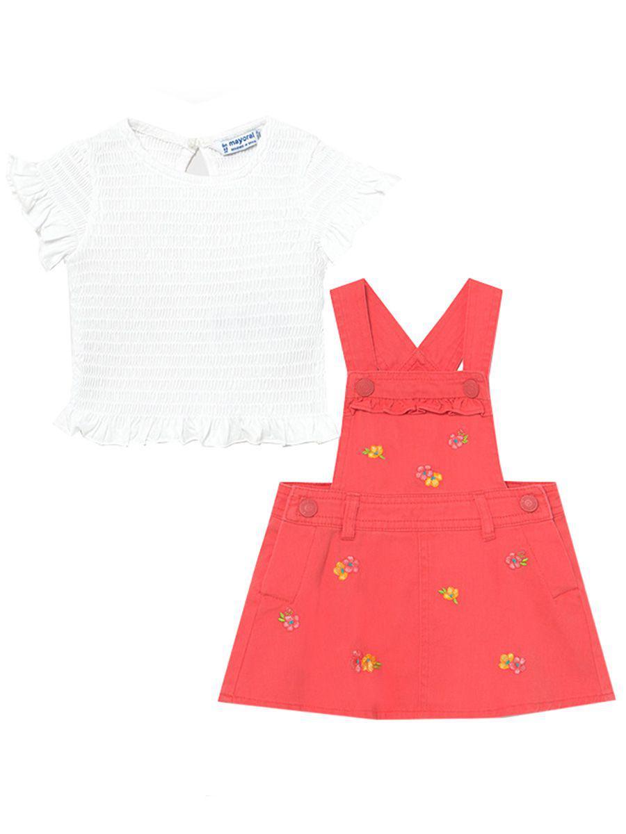 блузка mayoral для девочки, разноцветная