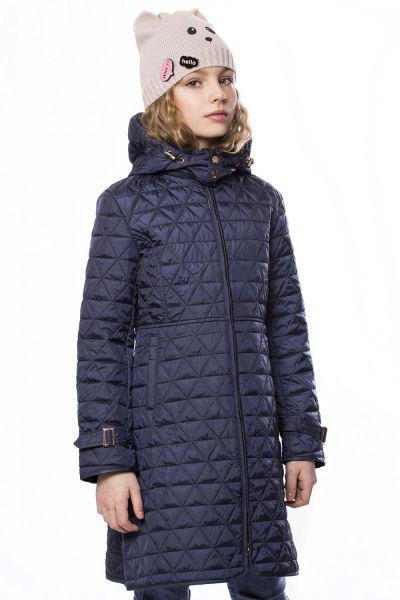 Купить Пальто, Noble People, Синий, Полиэстер-100%, Женский