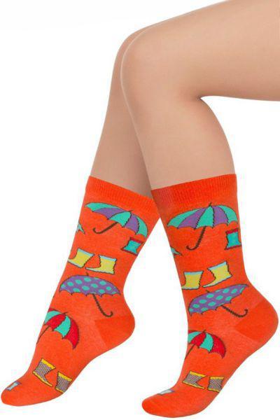 Носки для девочки SAKP-14237 оранжевый Charmante, Китай (КНР)