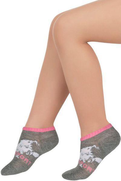 Носки для девочки SAS-1452 серый Charmante, Китай (КНР)
