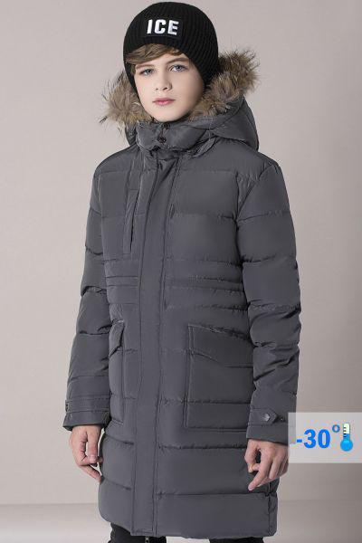 Купить Пальто, Noble People, Серый, Полиэстер-100%, Мужской