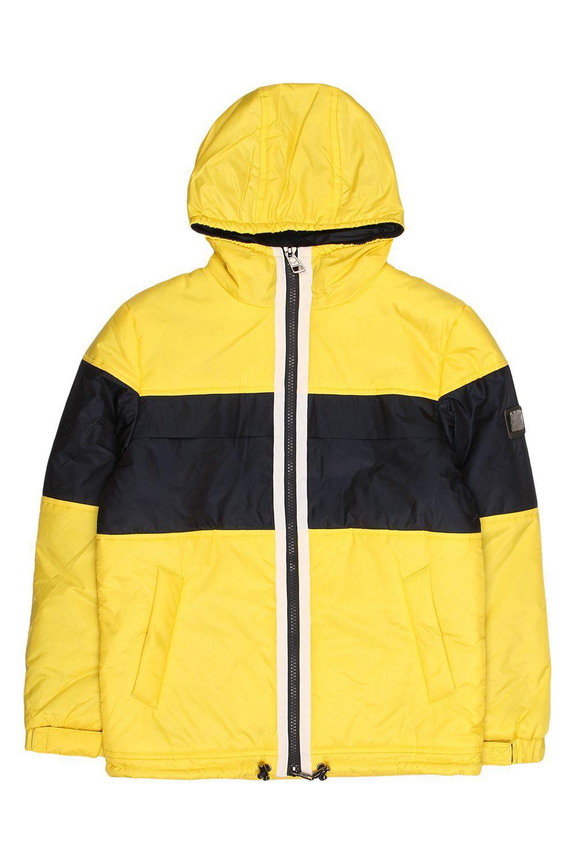 Купить Куртка, Les Trois Vallees, Желтый, Полиэстер-64%, Нейлон-36%, Мужской