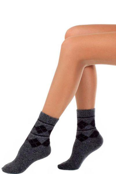 Носки шерстяные для мальчика SNW-1284 серый Charmante, Италия