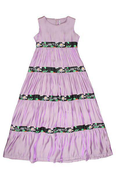 Купить Платье, Custo Barcelona, Фиолетовый, Полиэстер-100%, Женский