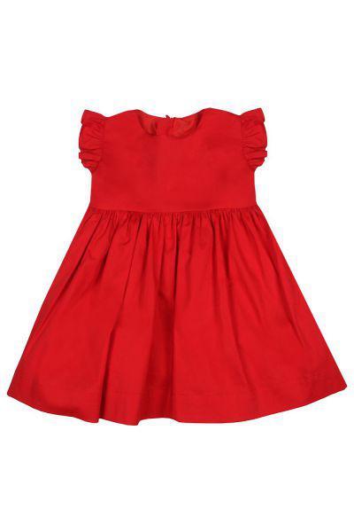 Купить Платье, Y-clu', Красный, Хлопок-98%, Эластан-2%, Женский