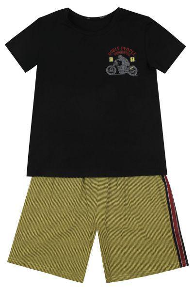 Купить Футболка+шорты, Noble People, Черный, Мужской