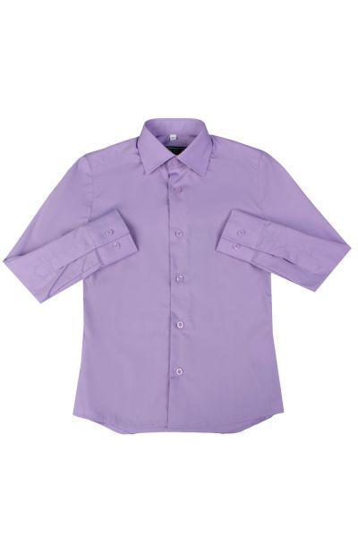 рубашка van cliff для мальчика, фиолетовая