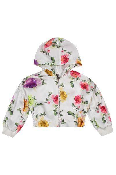 Куртка, Manila Grace, Белый, Хлопок-95%, Эластан-5%, Женский  - купить со скидкой