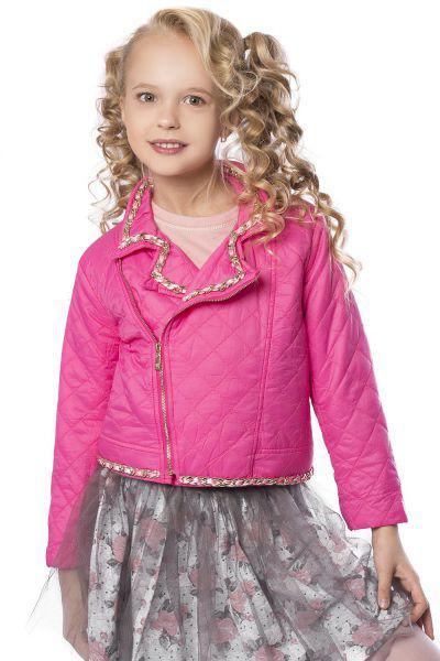 Куртка для девочки GE680440 красный Gaialuna розовый, Китай (КНР)