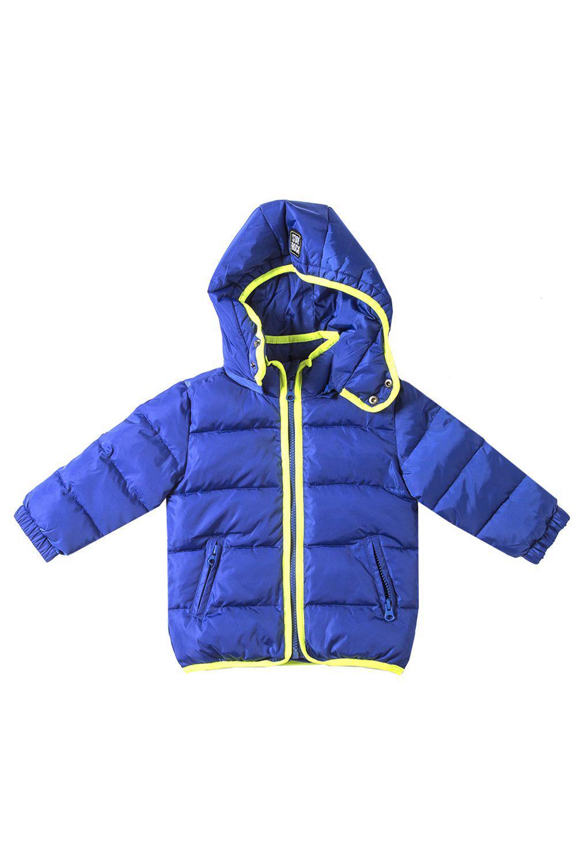 куртка y-clu' для мальчика, голубая