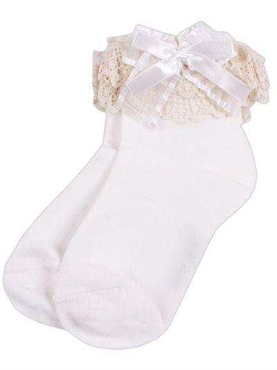 носки kidsfuture для девочки, белые