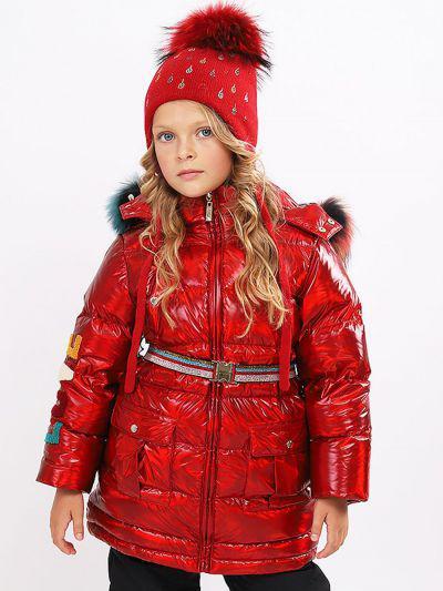 Купить Пальто, Noble People, Красный, Нейлон-100%, Женский
