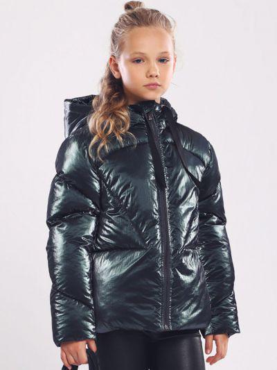 Купить Куртка, Gaialuna, Зеленый, Нейлон-100%, Женский