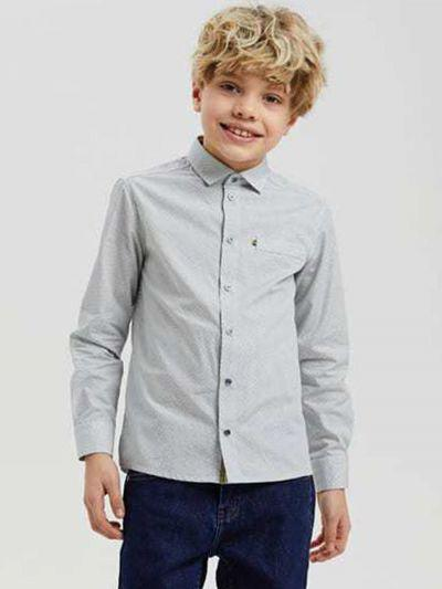 рубашка silver spoon для мальчика, разноцветная