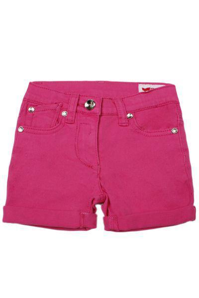 шорты gas для девочки, розовые
