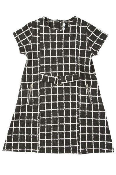 Купить Платье, Y-clu', Черный, Полиэстер-65%, Вискоза-35%, Женский