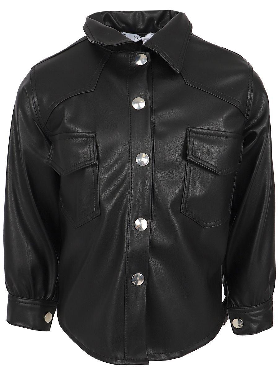 рубашка y-clu' для мальчика, черная
