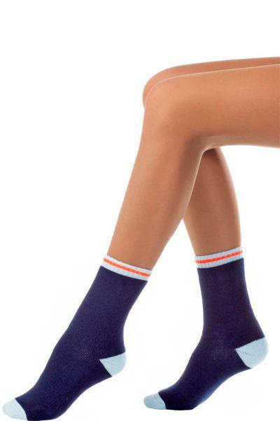 Носки махровые для мальчика SNM-1279 голубой Charmante, Италия