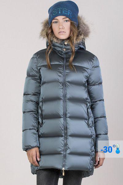 Купить Пальто, Noble People, Серый, Нейлон-100%, Женский