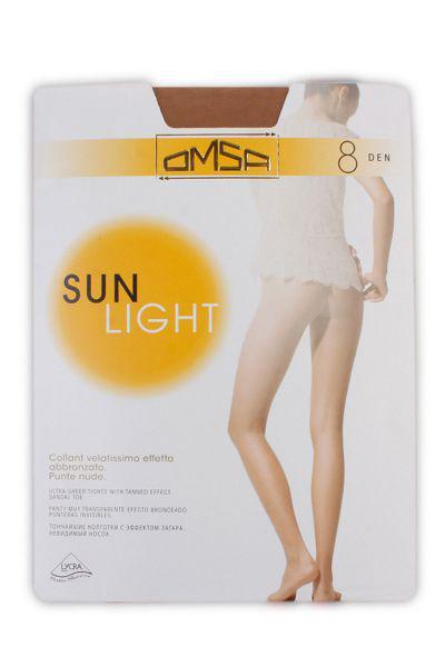 Колготки Sun Light для девочки SUN LIGHT8 чёрный Omsa бежевый, Сербия