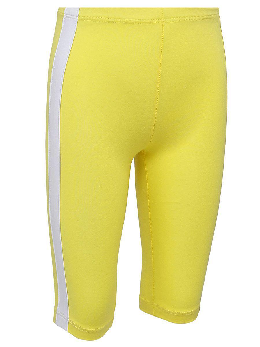 леггинсы y-clu' для девочки, желтые