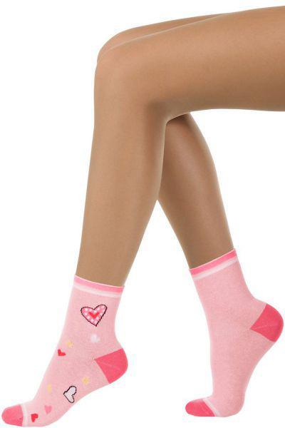 Носки для девочки SAK-1383 розовый Charmante, Италия