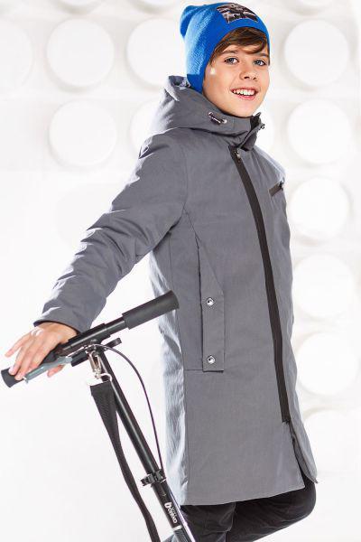 Купить Куртка, Noble People, Серый, Полиэстер-50%, Хлопок-50%, Мужской