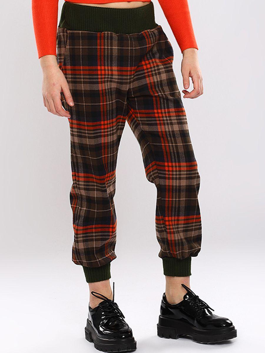 брюки y-clu' для девочки, разноцветные