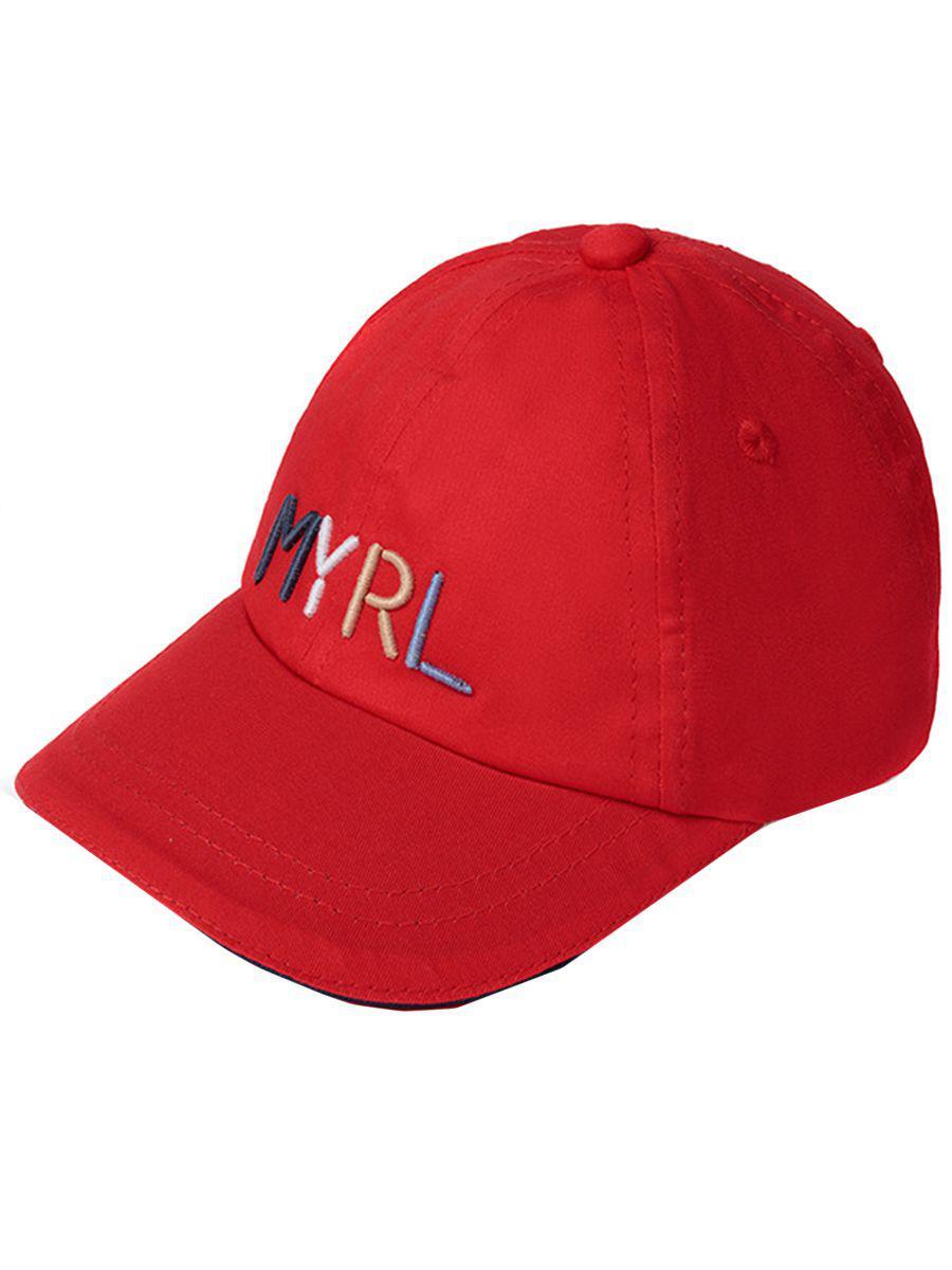 Купить Бейсболка, Mayoral, Красный, Хлопок-100%, Мужской