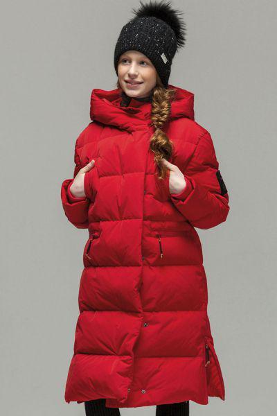 Купить Пальто, Noble People, Красный, Полиэстер-100%, Женский
