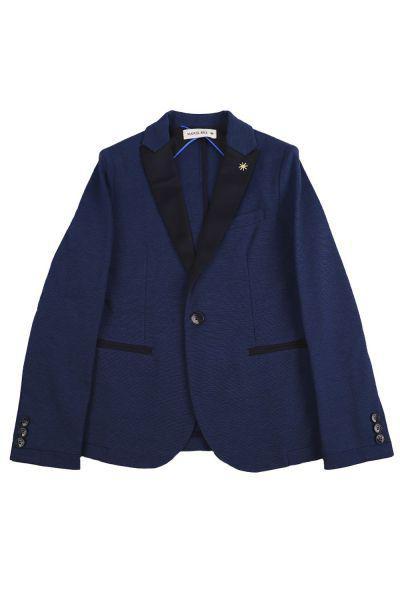 пиджак manuel ritz для мальчика, синий
